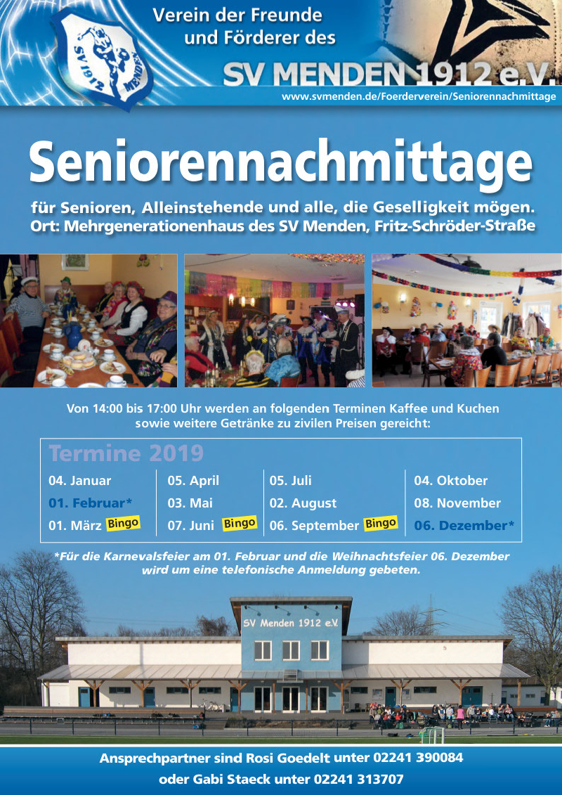 Seniorennachmittage